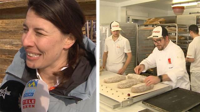 Schweizer Bäcker im Dauerstress / Interview mit Dominique Gisin