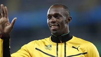 Usain Bolt sprach in Jamaika über seine Abschiedspläne. (Archivbild)