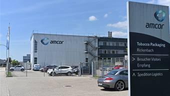 Schwere Zeiten für Amcor in Rickenbach: Das Unternehmen kapituliert.