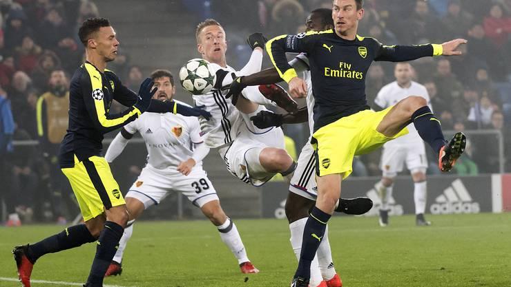 Marc Janko und Seydou Doumbia konnten sich in der Offensive kaum entfalten.