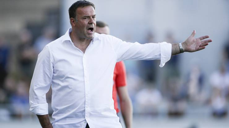 Das Saisonziel wird Patrick Rahmen mit dem FC Aarau wohl nicht mehr erreichen.