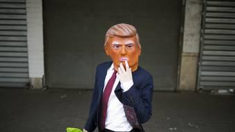 Donald Trump: Alle warten gespannt auf seinen WEF-Auftritt.