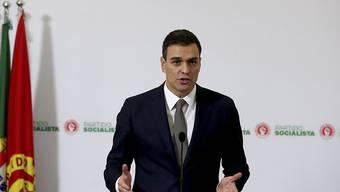 Pedro Sánchez will den spanischen Ministerpräsidenten Mariano Rajoy ablösen.