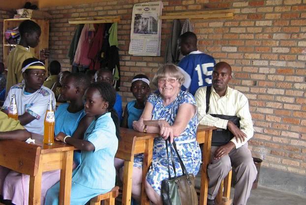 Margrit Fuchs (1917-2007) gründete das Hilfswerk in Ruanda im Jahr 1993.