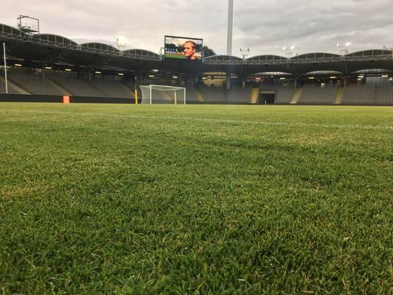 Nur internationale Spiele trägt LASK im grössten Stadion der statt aus.