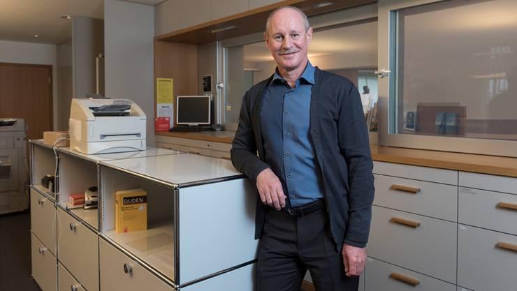 Gemeindeschreiber Hans Schlatter arbeitet seit 25 Jahren auf der Gemeindeverwaltung Seengen.