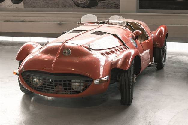 Dieser Alfa Romeo 6c-2300 von 1938 ist besonders schnittig.
