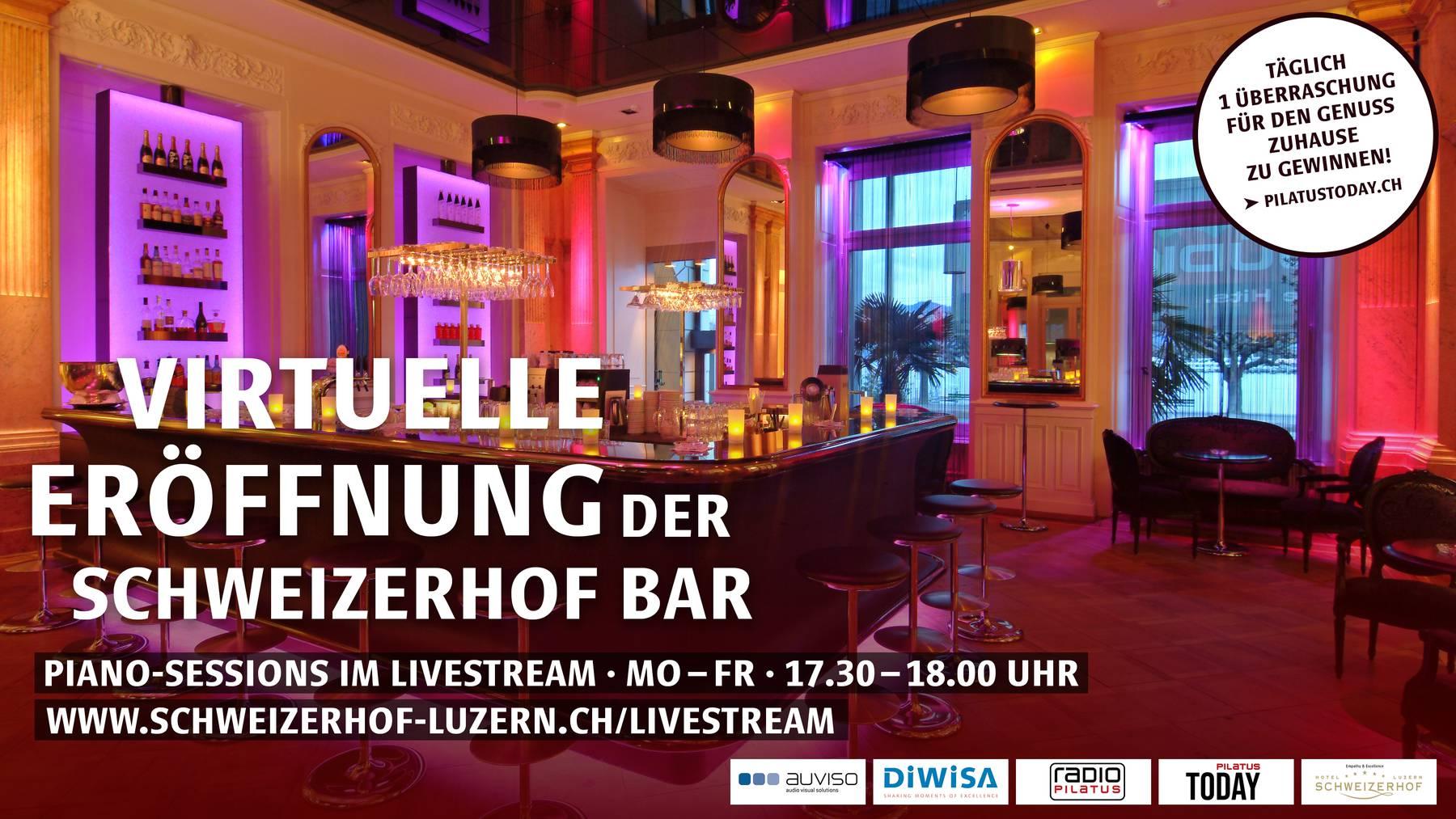 Schweizerhof Luzern Live-Stream Apéro