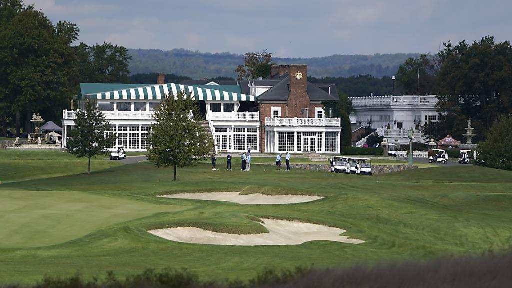 Der Trump National Golf Club in Bedminster ist 2022 doch nicht Gastgeber der PGA Championship