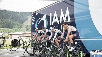 Das IAM-Cycling-Team feierte den ersten Sieg auf der World Tour.