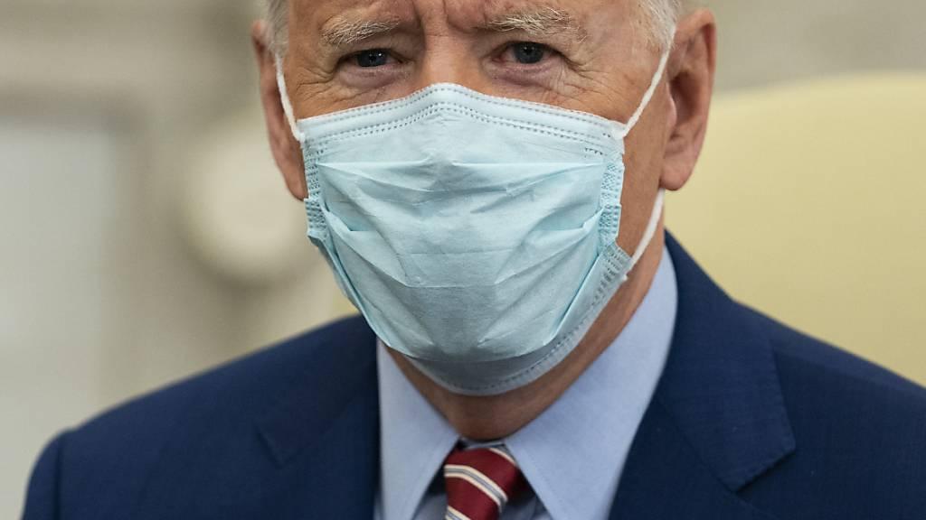 US-Präsident Joe Biden wird an der virtuellen Münchener Sicherheitskonferenz teilnehmen. Foto: Evan Vucci/AP/dpa