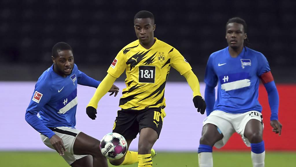 Nach dem Bundesliga-Rekord gleich das Champions-League-Debüt? Dortmunds Youssoufa Moukoko könnte zum jüngsten Spieler in der Geschichte der Königsklasse werden.