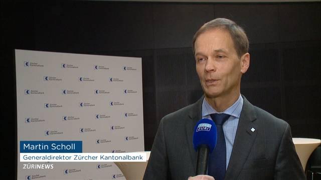 ZKB schliesst mit fünfthöchsten Gewinn ab