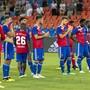 Enttäuschte Gesichter nach dem Ausscheiden des FC Basel in der 2. Qualifikationsrunde der Champions League