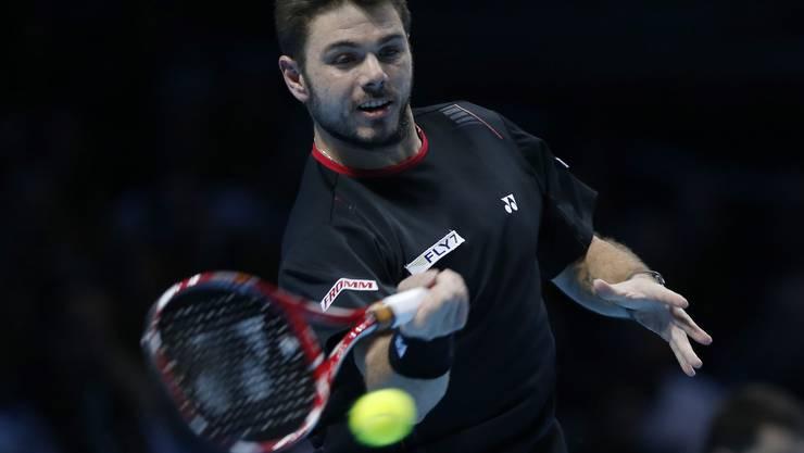 Stanislas Wawrinka verliert im Halbfinal der ATP World Tour gegen Novak Djokovic.