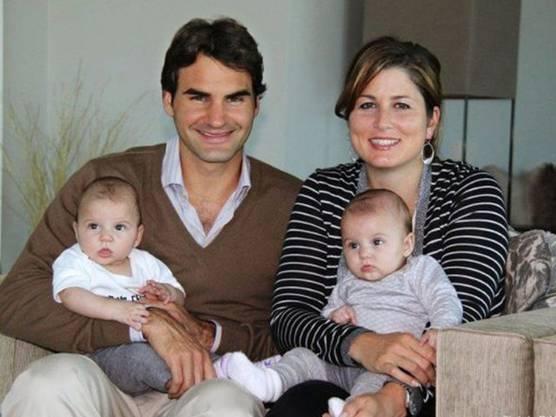 Familienmensch Roger mit Gattin Mirka