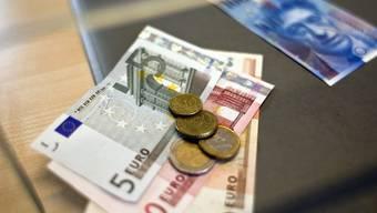 Der Euro erreicht zum Franken ein neues Rekordtief