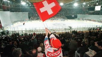 Ob es an der WM Bilder von fahnenschwenkenden Schweizer-Fans gibt, hängt von den Leistungen der Mannschaft von Trainer Ralph Krüger ab.