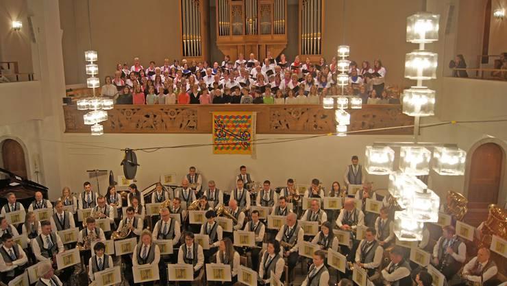 Konzerte wie dieses Kirchenkonzert der Stadtmusik Dietikon werden in näherer Zukunft nicht stattfinden.