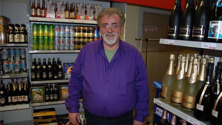 Martin Mühlemann ist glücklich, selbstständig zu sein, und lädt am 29.Februar zur offiziellen Eröffnung.