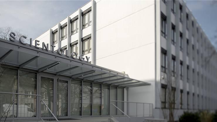 Das Scientology-Zentrum an der Burgfelderstrasse soll am 25. April eröffnet werden.