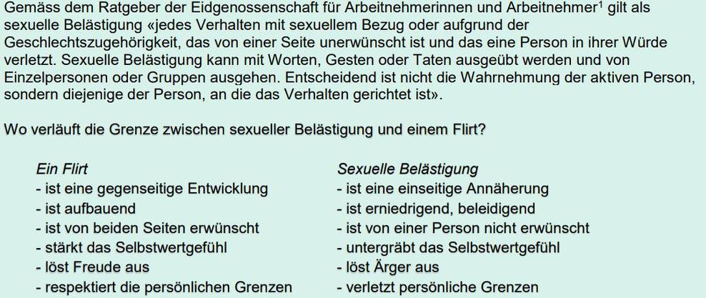 Die Erklärungen der Verwaltungsdelegation im Wortlaut.