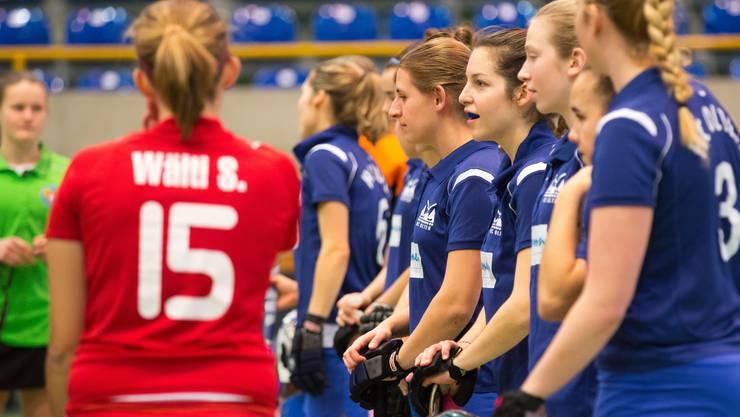 2. Spieltag der Hallenmeisterschaft: HC Olten - Rotweiss Wettingen