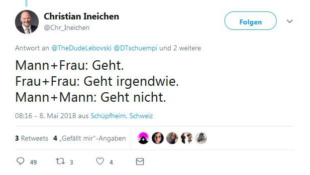 Twitter-Panne: Christian Ineichen löscht Profil