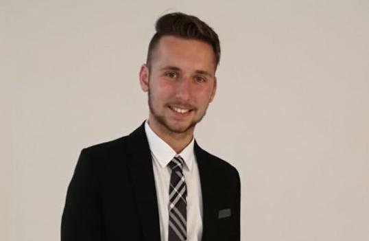 Gemeinderat und Nationalratskandidat Luca Hasler
