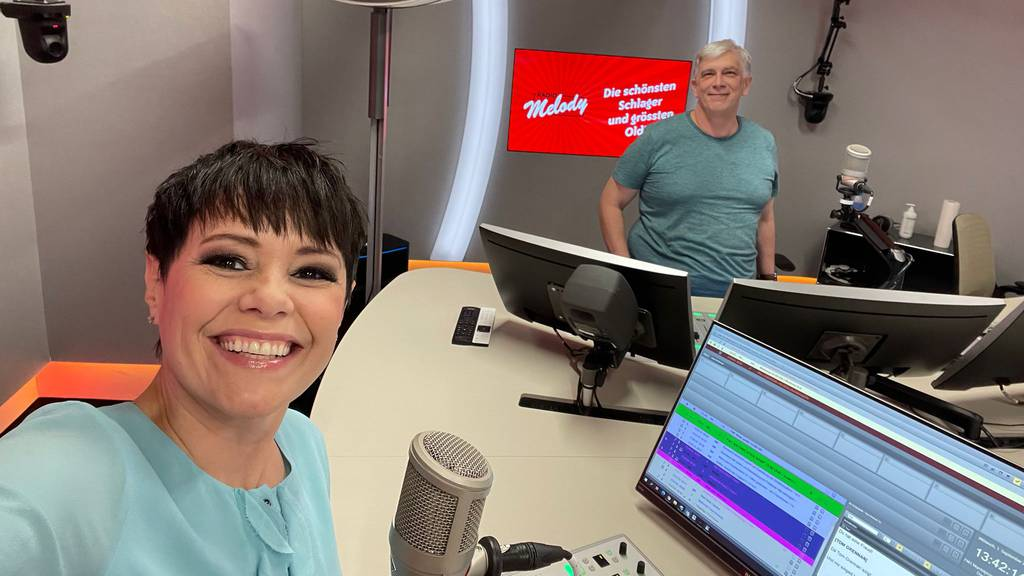 Francine Jordi bei Radio Melody
