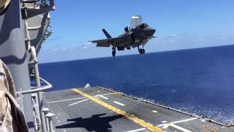 Wahnsinns-Maschine: An der Entwicklung der F-35B Lightning II Stealth sind mehrere Länder beteiligt.