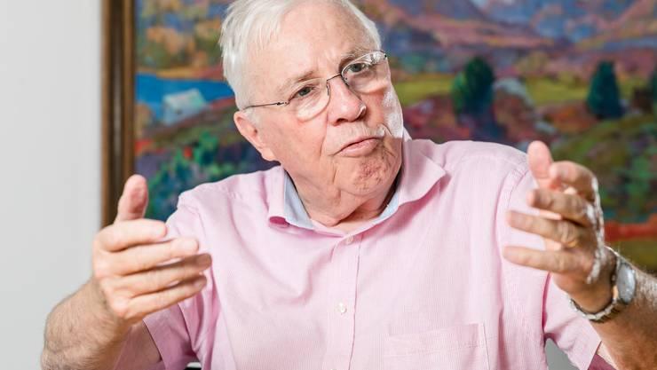 SVP-Doyen Christoph Blocher: «Ihr Auftrag ist, so zu tun, als sei sie eine Gesellschaft von Idealisten. Eine Zivilgesellschaft.»