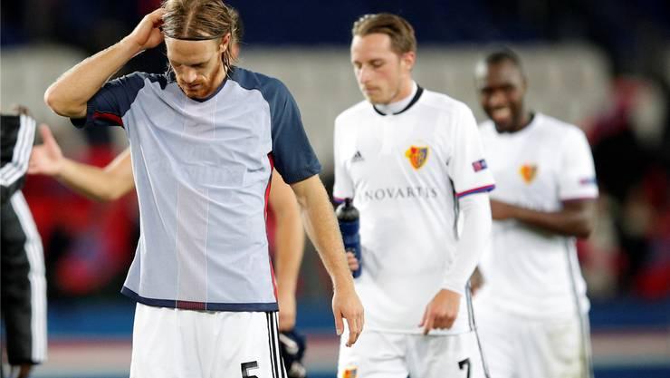 Nach der Niederlage gegen Paris Saint-Germain steht für den FC Basel heute das Auswärtsspiel gegen Lugano auf dem Programm. Keystone