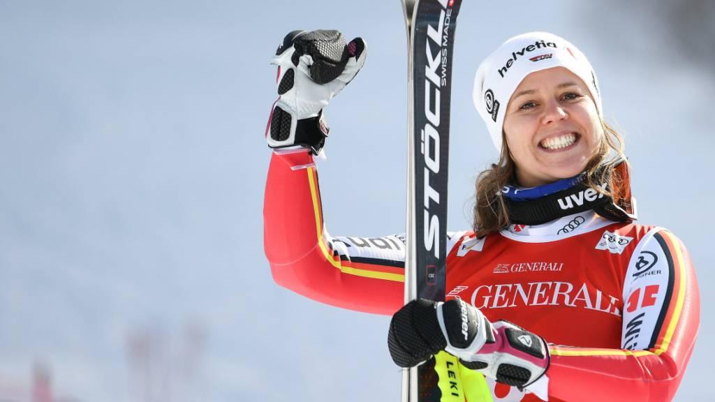 Viktoria Rebensburg konnte zahlreiche Erfolge feiern