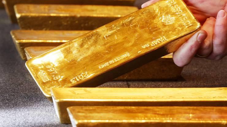 Der Goldpreis ist gestiegen (Archivbild).