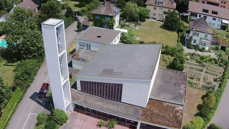 Die reformierte Kirche in Turgi.