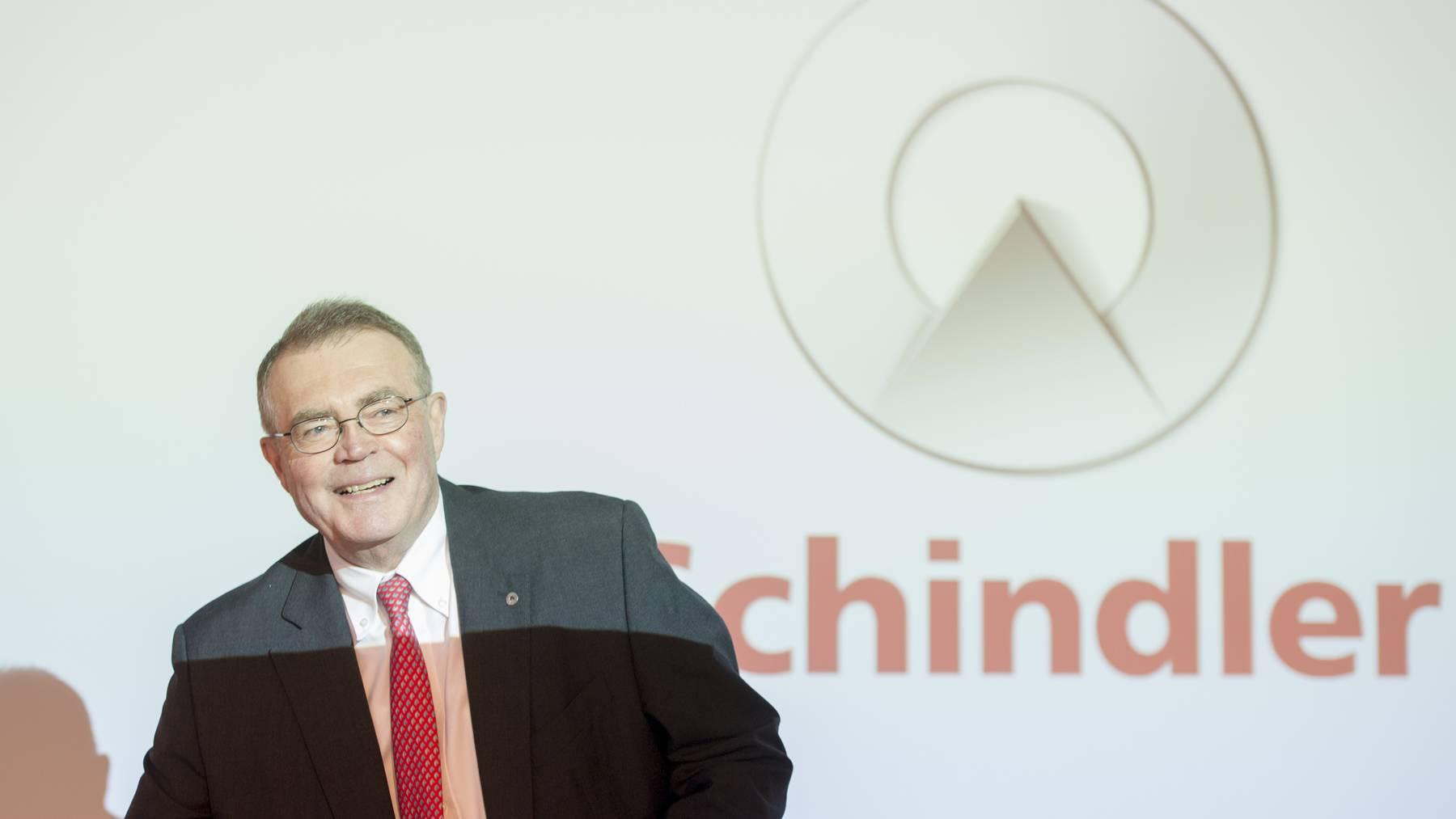 Schindler-Patron Alfred N. Schindler hat gut lachen: Seine Familie führt neu die Liste der Zentralschweiz an.