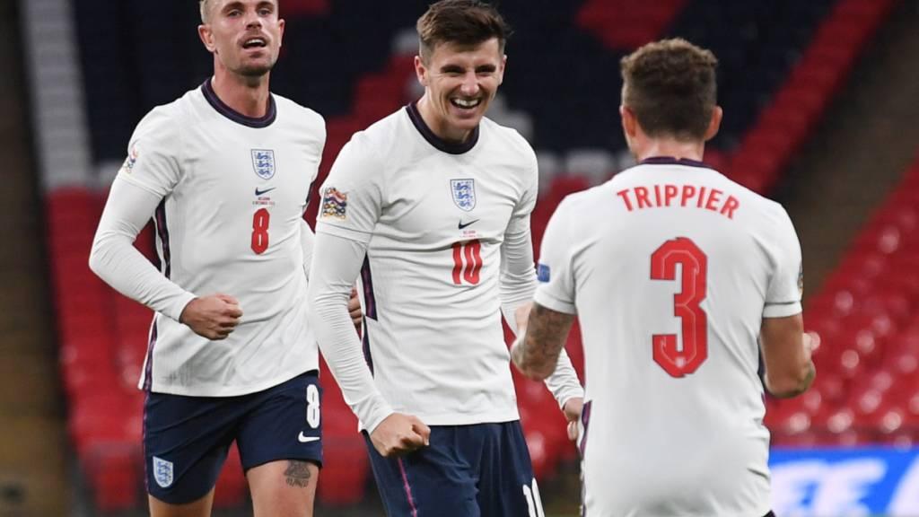 England nach Heimsieg gegen Belgien Leader