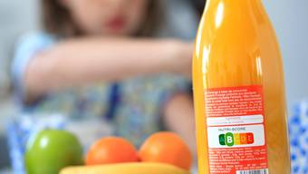 Dieser Orangensaft ist ziemlich gesund, wie ein Blick auf die Lebensmittel-Ampel zeigt.