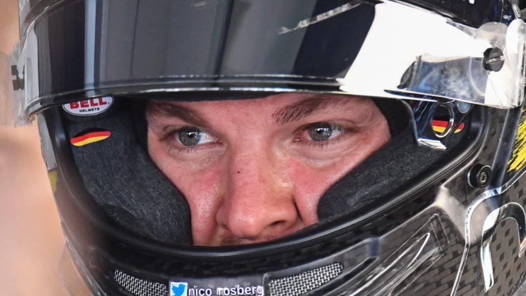 Nico Rosberg sicherte sich für sein Heimrennen zum zweiten Mal den besten Startplatz
