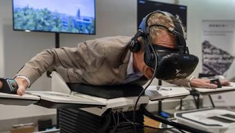 Auf Tauchstation: Mit dem Flugsimulator können Museumsbesucher Korallenriffe erforschen. (Symbolbild)