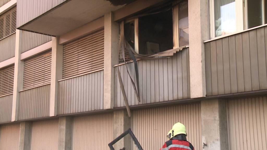 Winterthur: Neun Personen wegen Zimmerbrand evakuiert