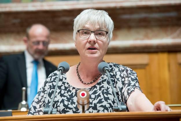 Rosmarie Quadranti hofft auf eine schweizweite Lösung