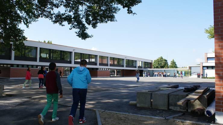 Ein paar Einblicke in die für 8,5 Mio. Fr. renovierte Schulanlage.