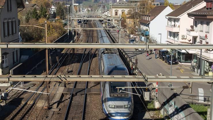 Der Vierspurausbau am Liestaler Bahnhof wird eine Riesenherausforderung, so der Liestaler Stadtrat Franz Kaufmann.