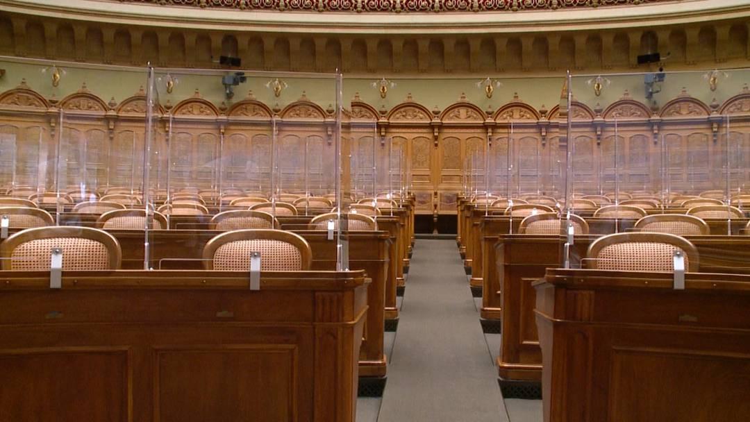 Bundeshaus wird zu Plexiglas-Palast: Und das passiert bei einem Covid-19-Ausbruch