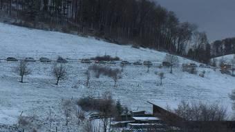 Schneechaos auf dem Benkerjoch