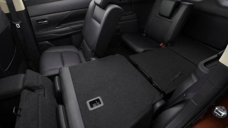 Mitsubishi Outlander Innenraum