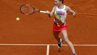 Als einzige Mitfavoritin noch im Rennen um den Turniersieg in Madrid: die Rumänin Simona Halep