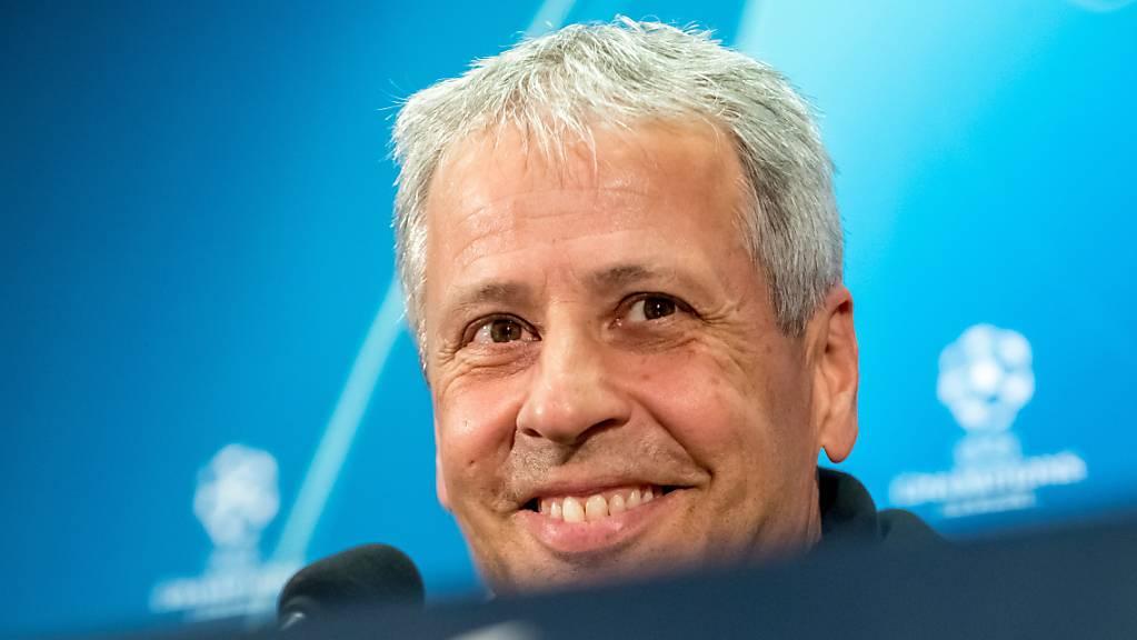 Noch kann Lucien Favre auf das volle Vertrauen der BVB-Klubleitung abstützen.